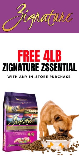 FREE 4lb BAG ZSSENTIAL FORMULA